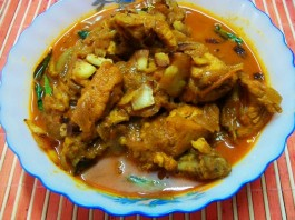 extra rich chicken curry