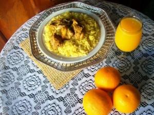 arabic style chicken biriyani